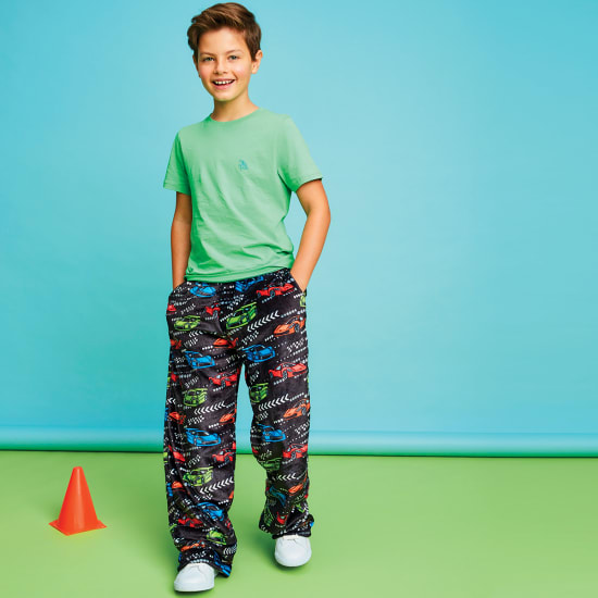 Picture of Race Car Plush Pants
