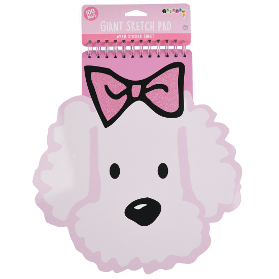 Picture of Puppy Love Giant Sketch Pad