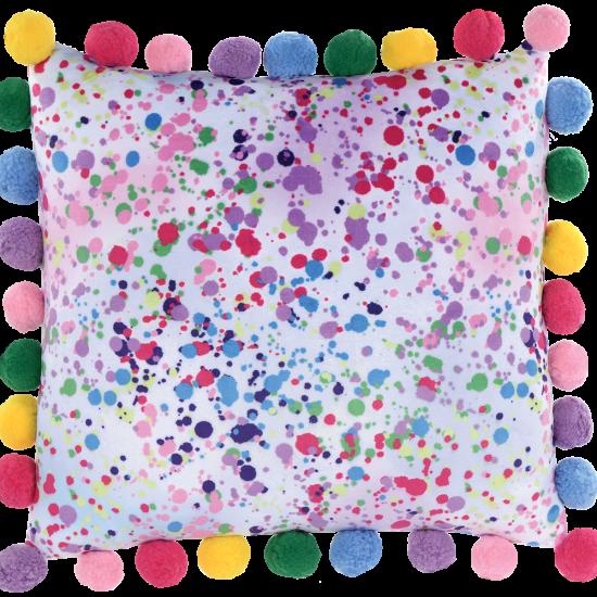 Picture of Confetti Pom-Pom Fleece Pillow
