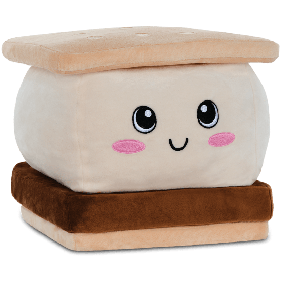 Picture of Graham the S'more Scented Embossed Pillow