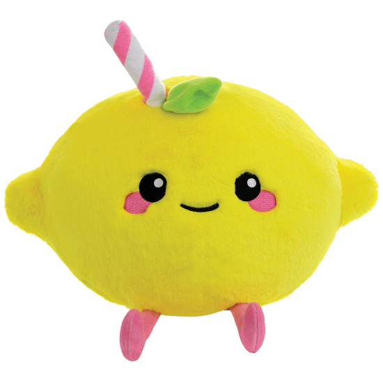 Picture of Pink Lemonade Furry and Fleece Pillow