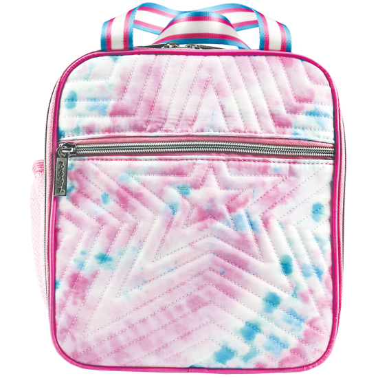 Picture of Silver Star Tie Dye Quilted Lunch Tote