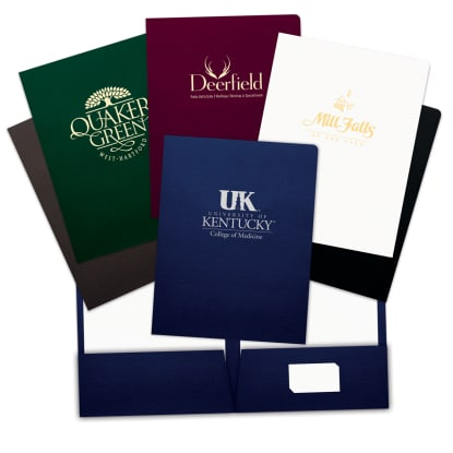 "Picture of ""Popular Choice"" Foil-Stamped Folders"