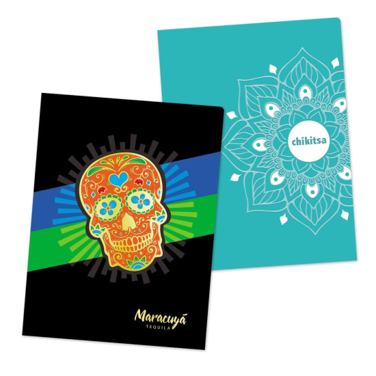 Picture of Printed Folders with Foil & Spot Gloss UV