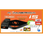 Receptor AZAMERICA I5 - ACM 4K H265 IPTV - SEM ANTENA