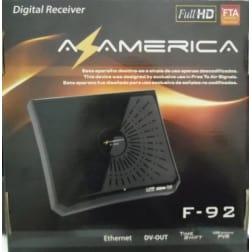 Azamerica F92 Full HD Receptor Cabo