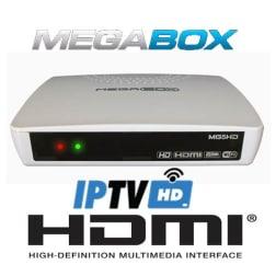 Receptor Mega Box MG5 Full HD Iptv HDMI
