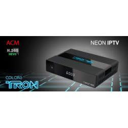 RECEPTOR NEONSAT COLORS TRON HD WI FI HDMI/USB/VGA