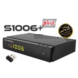 AzAmérica S1006 Plus - Full HD ACM IPTV Wifi - Receptor FTA