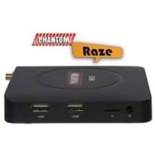 RECEPTOR PHANTOM RAZE HD - WIFI IPTV ANDROID