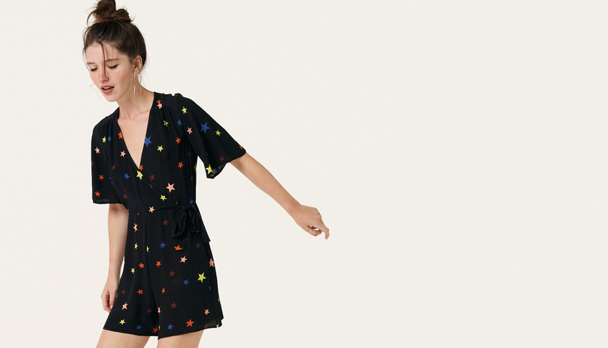 black-star-rhiannon-playsuit--------boom!youre-with-us-now by nobodys-child