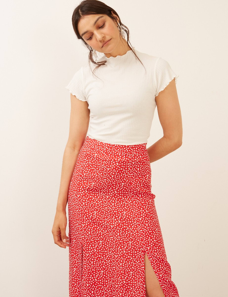 Sara Midi Skirt