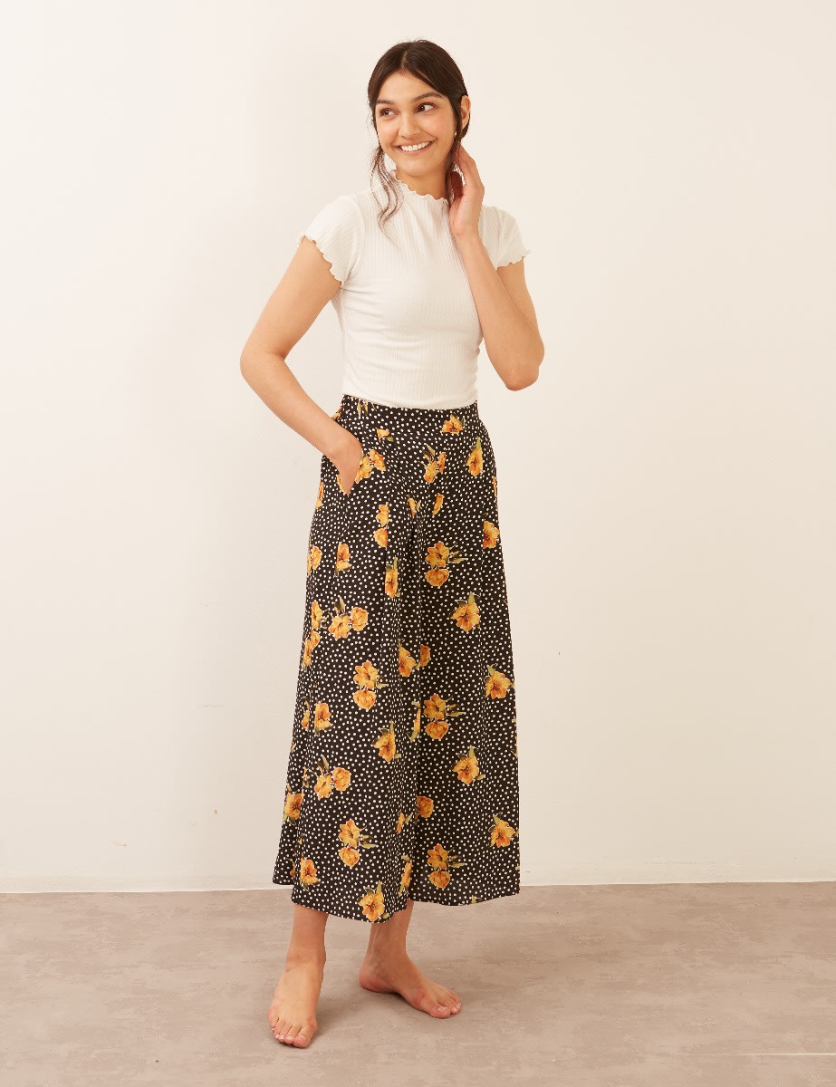 Zeena Wide Leg Trouser