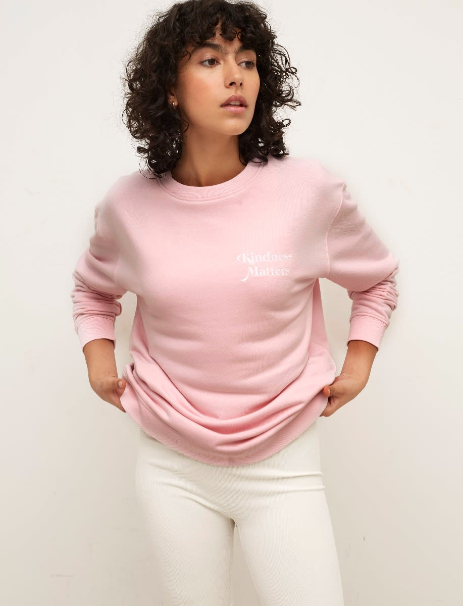 Longline Embroidered Sweater