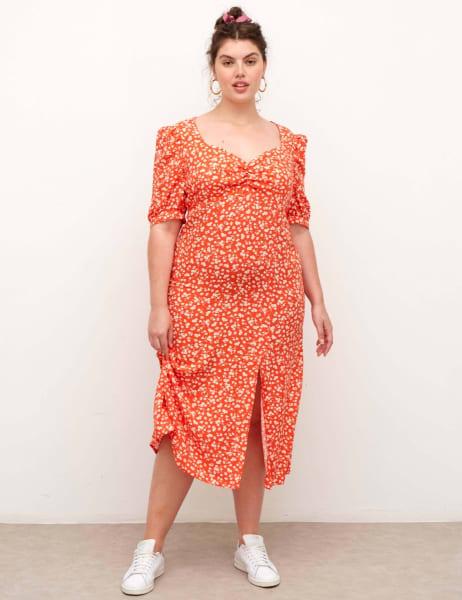 Curve Rosie Midi Dress