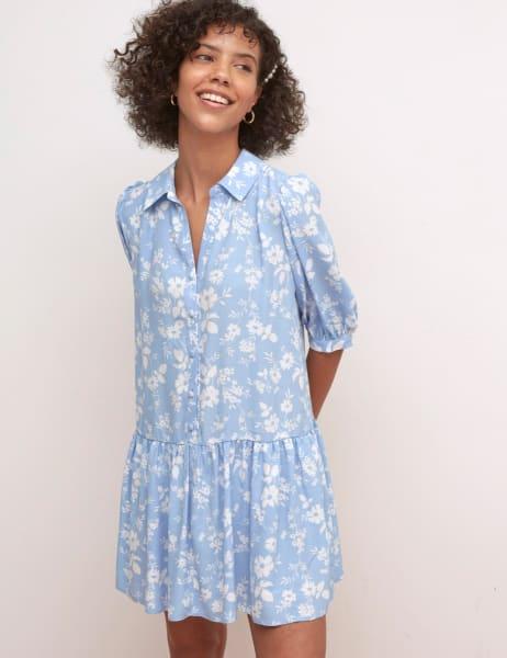 Rhiannon Mini Shirt Dress