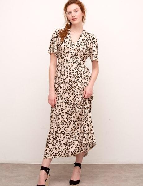 Teresa Tie Back Maxi Dress