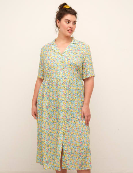 Curve Lulu Midi Dress