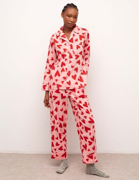 Martha Long Sleeve Pyjama Trouser Set