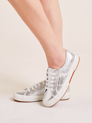 Metallic Superga Trainer