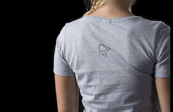 /29 organic cotton norrøna t-shirt for women