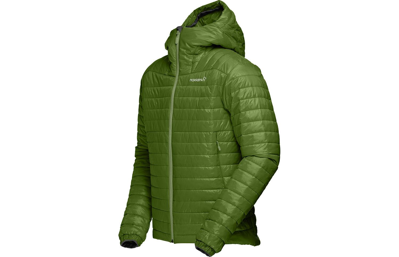 Norrøna falketind jakke med hette for helårsbruk - Primaloft100