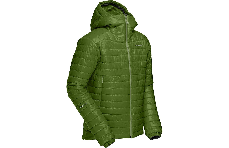 Norrona falketind jacket with primaloft and hood for men