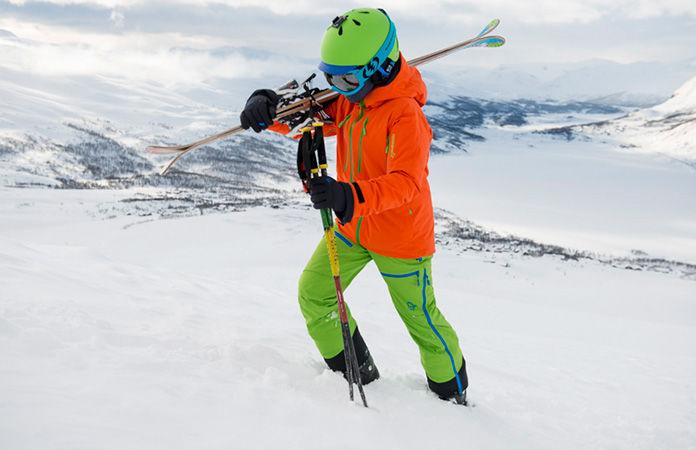 Norrøna lofoten gore-tex primaloft skijakke til barn