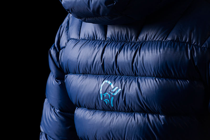 Norrøna lyngen lightweight down750 jacket for women ski touring