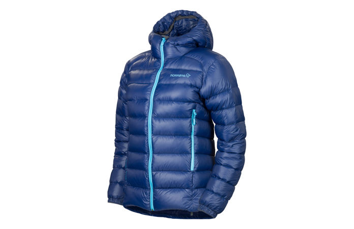 Norrøna lyngen lightweight down750 ski touring jacket for women