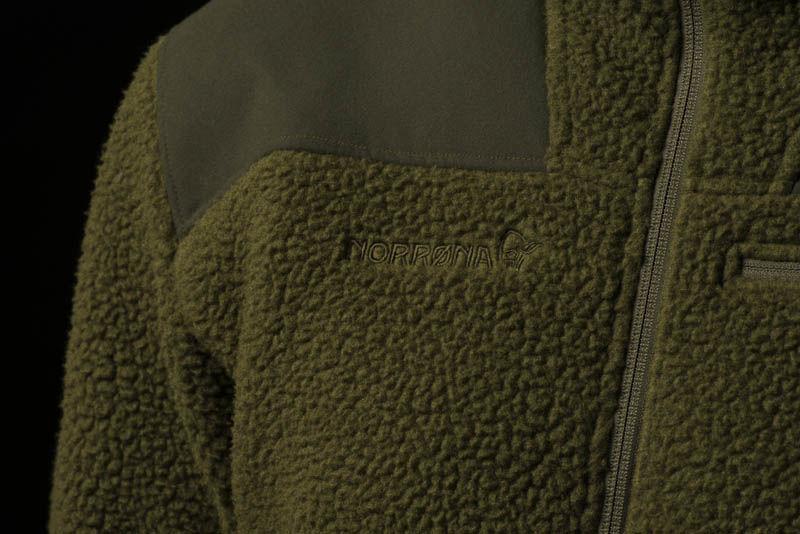 Norrøna varm jaktjakke i fleece - Finnskogen warm2 jacket
