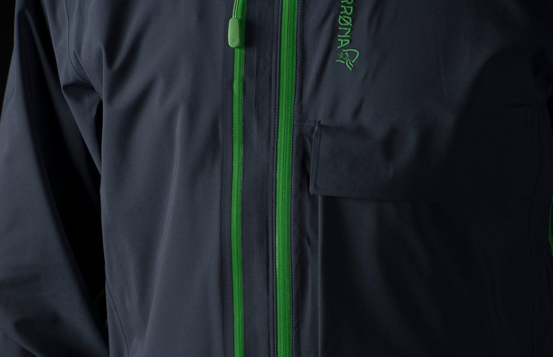 Norrøna lyngen driflex3 jacket for ski touring