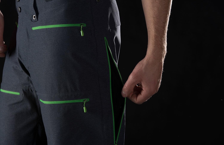 Norrøna lyngen hybrid ski touring pants for mens