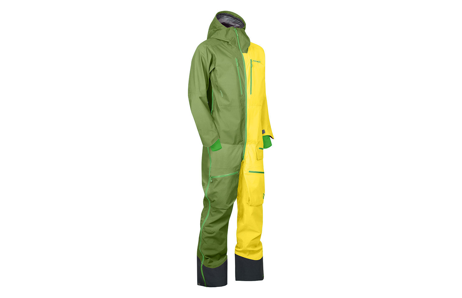 Norrøna onepiece heldress i Gore-Tex Pro materiale