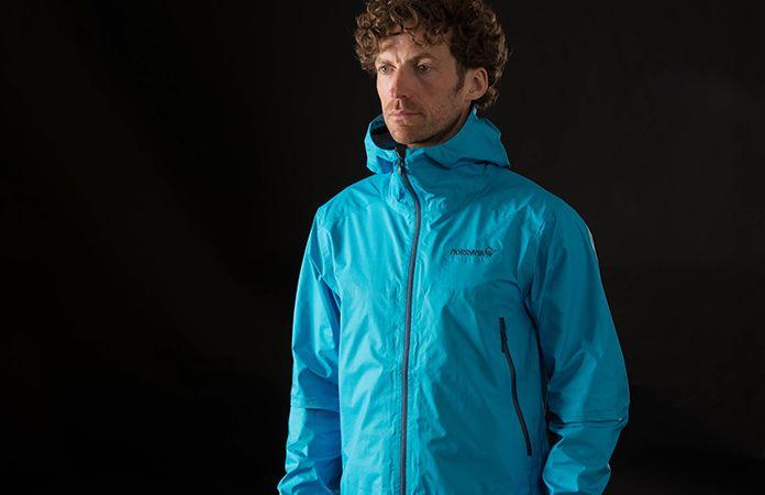 norrøna bitihorn mens waterproof jacket for hiking