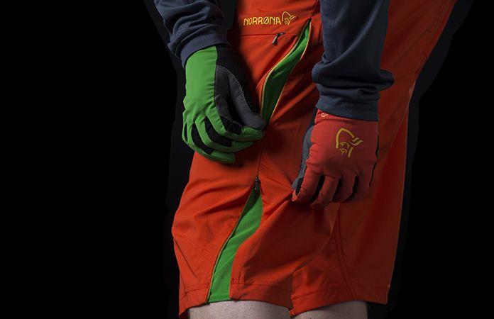 Norrøna fjørå lightweight shorts for stisykling til herre