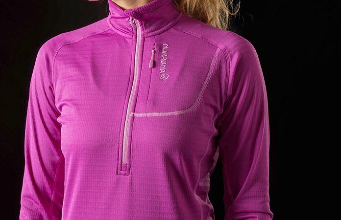 Norrøna bitihorn powerdry shirt pink women