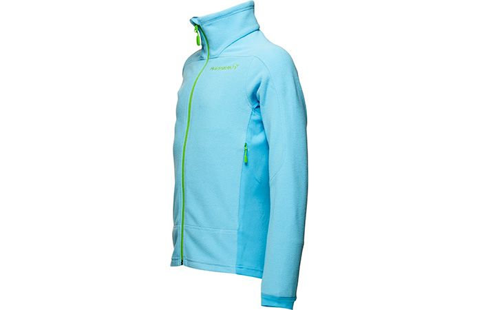 Norrona falketind fleece jacket kids blue