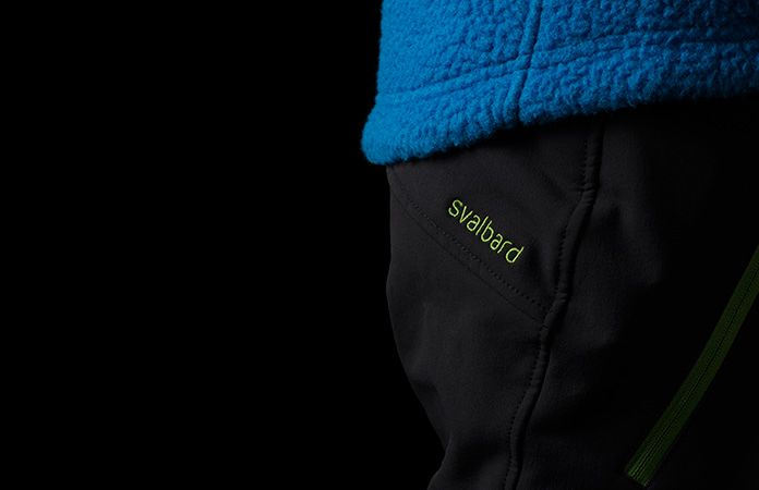 Norrona junior soft shell pants - Svalbard flex1