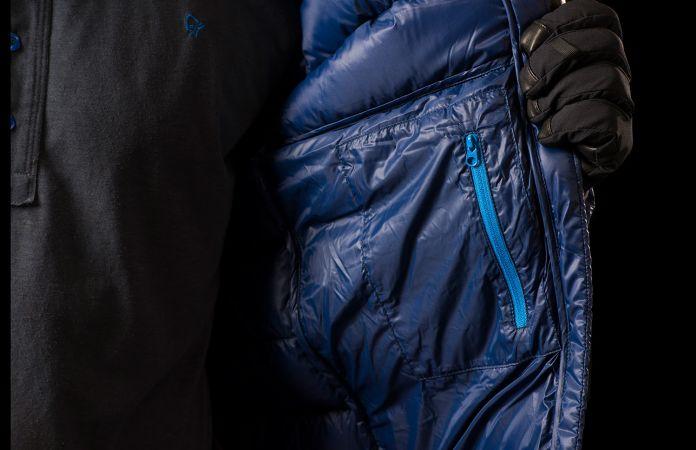 Norrona lyngen lightweight down750 jacket - internal pocket