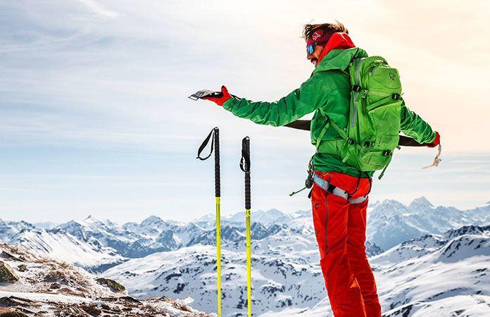 Norrona lyngen ski touring pack