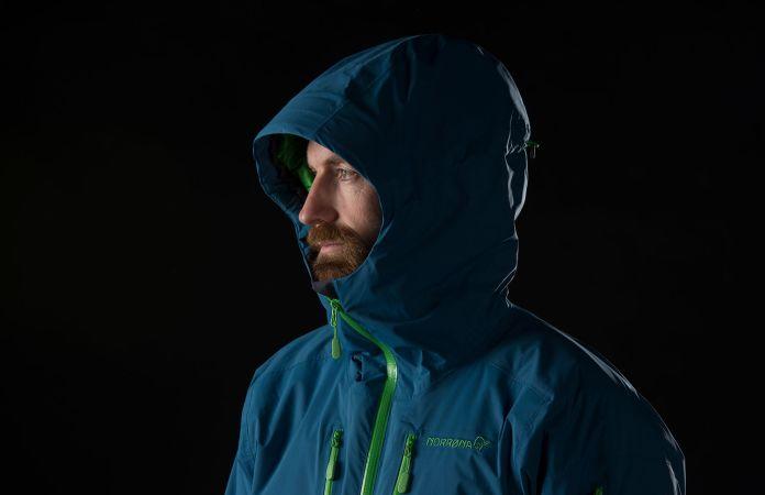 Norrona lofoten Gore-Tex Primaloft insulated ski jacket for men