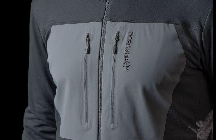 Norrøna lyngen powerstretch hoodie for men