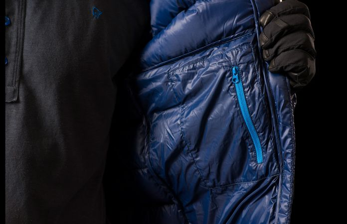 Norrona lyngen lightweight down750 jacket - internal pocket