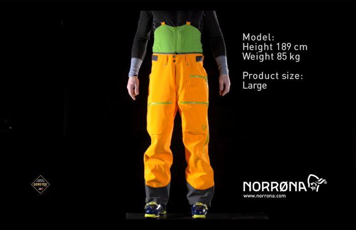 Norrona lofoten gore-tex p pro pants pants for men