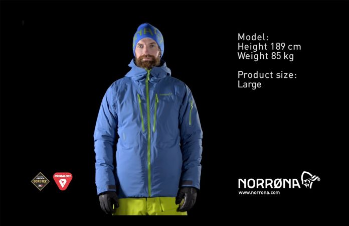 Norrøna lofoten Gore-Tex Primaloft jacket for men