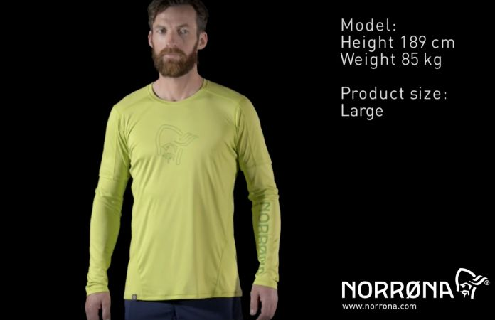 Norrøna tech long sleeve shirt for men - 29 collection