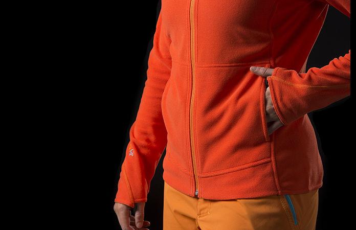 Norrøna /29 warm1 fleece zip hood for women