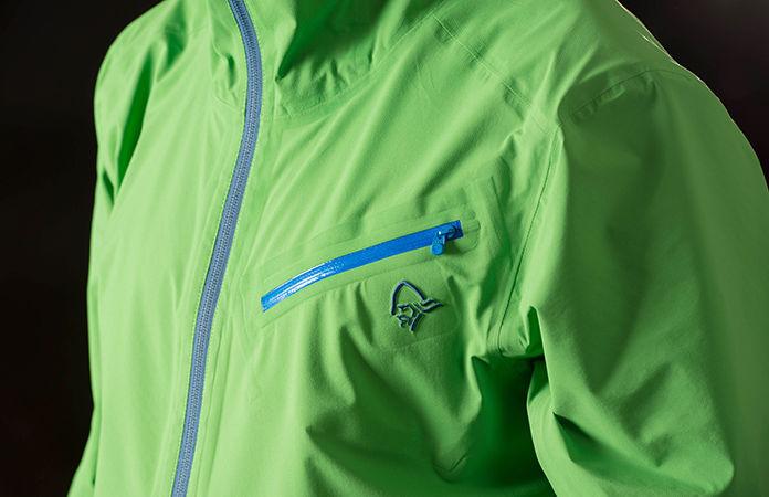 Norrøna /29 rain coat for men - green