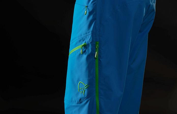 norrøna waterproof biking shorts